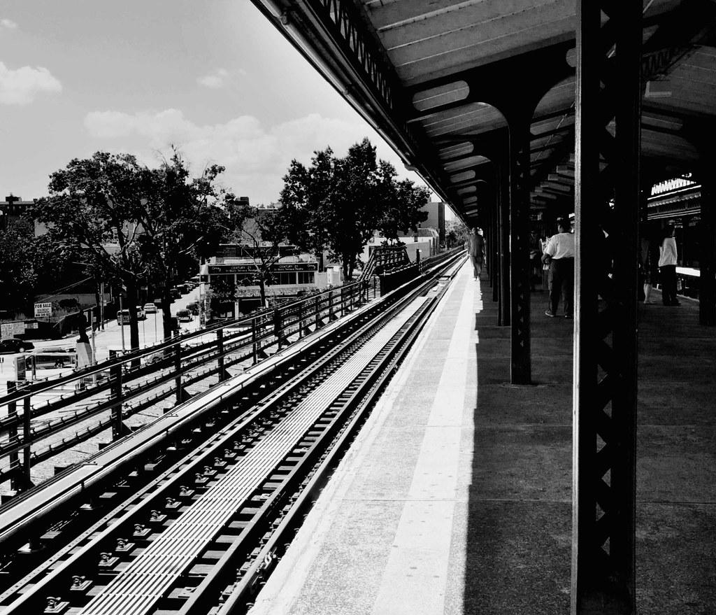 train NYC summer 2011