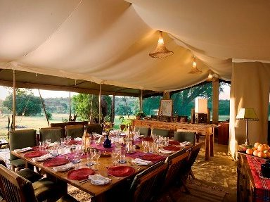 Kicheche Mara Camp Dining Tent