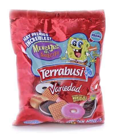 galletas surtidas argentinas terrabusi variedad bob esponja