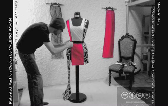 "The ""playable"" Dress by Valerio Pavan - Creative Commons ver."