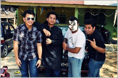 Raya with NurAizuddin