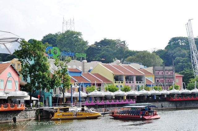 Clarke Quay during Daytime