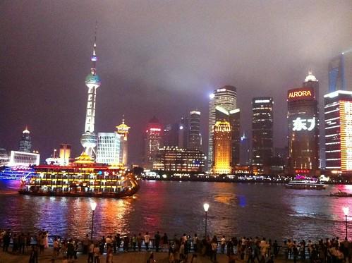 Shanghai Skyline from The Bund by Wesley Fryer, on Flickr