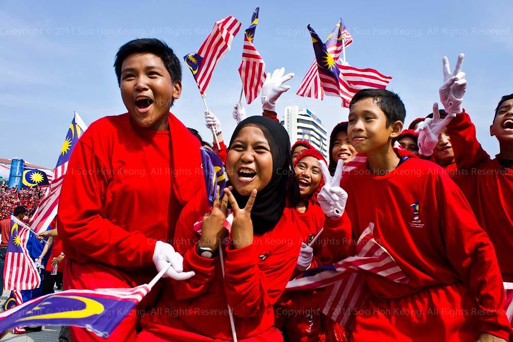 We Are One @ Malaysia Day Celebration, Dataran Merdeka, KL, Malaysia
