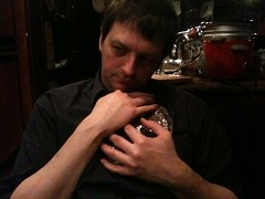 Grant craddles the wheel of fudge