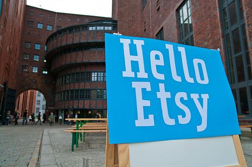 Hello Etsy!