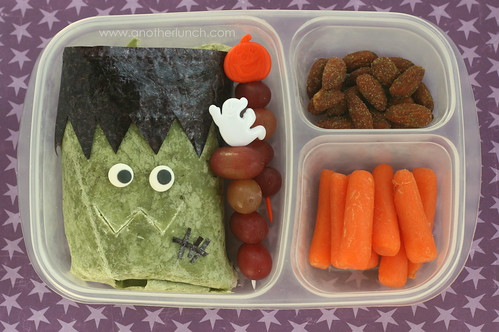 Frankenstein Monster wrap Bento