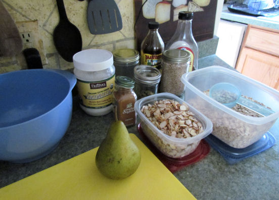 Homemade Cereal Ingredients