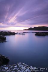 Treshnish sunset (TomF1989) Tags: ocean pink sunset sea rock landscape scotland exposure mull tranquil