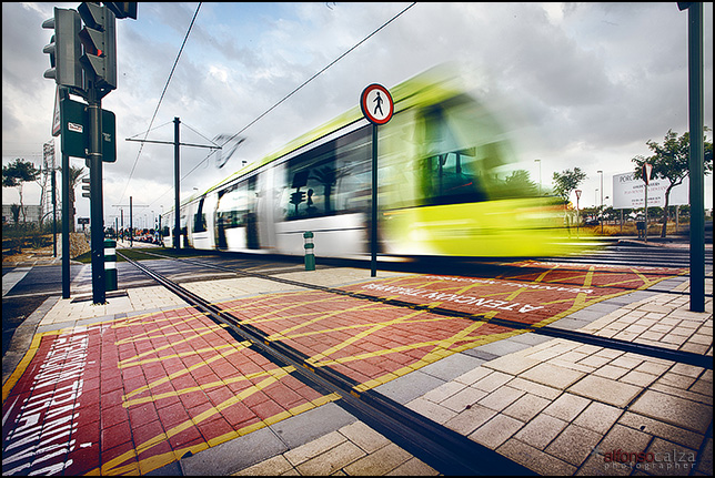 Tranvía en Murcia