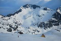 Easter home (.:: Maya ::.) Tags: winter mountain snow ski nature skiing glory peak hut human april backcountry refuge kamenitza pirin  ezero     tevno     mayaeye mayakarkalicheva   wwwmayaeyecom