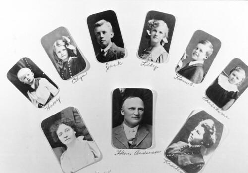 Hans Andersen (b1875) collage photo