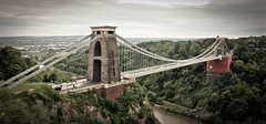 Clifton Suspension Bridge (Danny T Photography) Tags: bridge architecture river bristol place suspension scenic engineering kingdom clifton interest brunel isambard