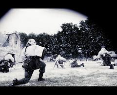RB-1946 (Robert Bridgens) Tags: winter snow death ss explosion ww2 grenade airborne reenactment sherman panzer execution ksk bastogne bandofbrothers warpeace 50cal mg42 stug k98 mg34 stahlkrieger beltring2011