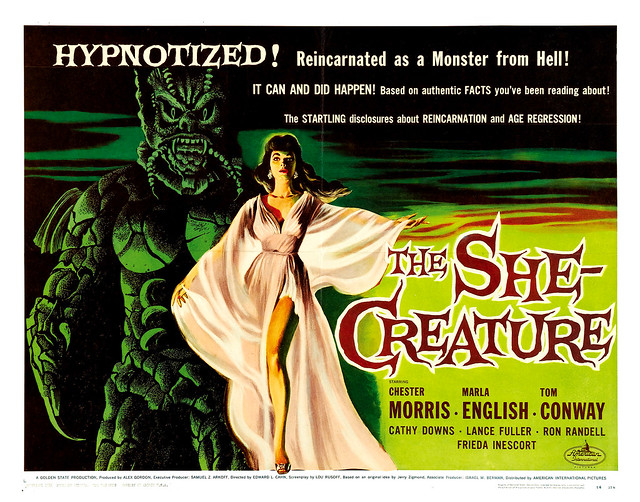 Albert Kallis - The She-Creature (American International, 1956) Half Sheet