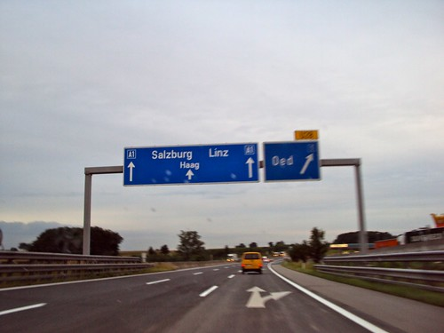 Preparation for Road trip: Budapest to Cologne, Crossing Austria