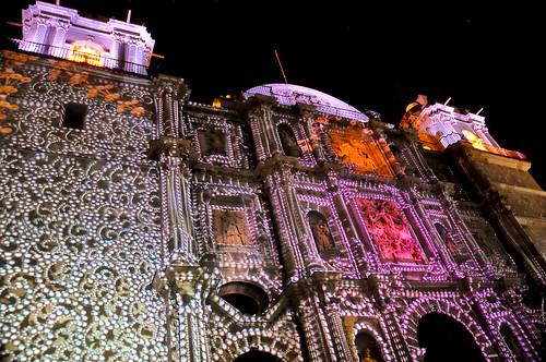 Espectáculo Multimedia Catedral Oaxaca (19)