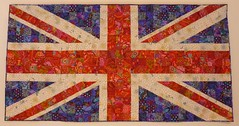 unknown - Union Jack made from all Kaffe fabrics