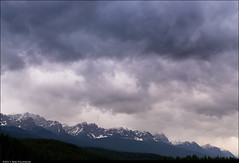 Banff sky (Rob Millenaar) Tags: sky canada clouds landscape scenery banff lakelouise