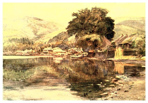 014-Lago Hakone-Japan & the Japanese 1910- Walter Tyndale