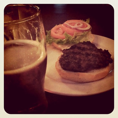 Burgers and beers for books