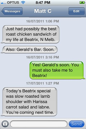 Matt loves Beatrix