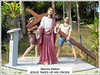 '2nd Station of the Cross' at St. Anne's Sanctuary, Bukit Mertajam