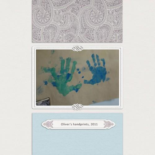 oliver handprints