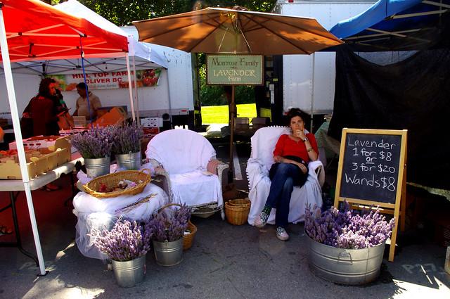 Lavender at Trout Lake Farmers Market