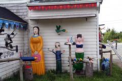 Nova Scotia Folk Art House 10 (Photos in the Sunset) Tags: canada weird folkart novascotia backroads maritimes visionaryart