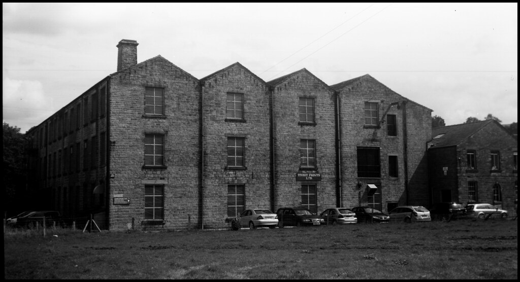 World Photography Day - 100 Year Old Camera - Tiviot Mill