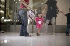 * (-nasruddinmukhtar-) Tags: girl analog mall 50mm kid fuji bokeh candid chibi 400 malaysia pro fujifilm pavilion nik kualalumpur analogue 135 nikkor 35 fm2 bukitbintang f12 wideopen 400h marukochan nasruddin nasruddinmukhtar