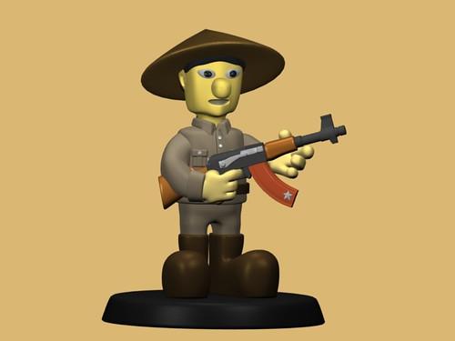 W.I.P. - Soldado de la unidad Li #1