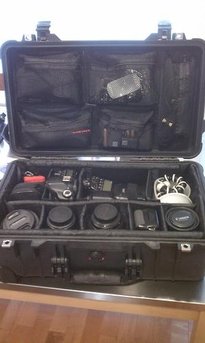 Pelican 1510 camera case