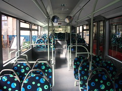 The interior of BD11 LWP (Jay COL Blog) Tags: bus london mercedes interior garage united rear group brook stamford rapt mcl citaro