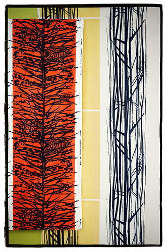 Fabric by Lucienne Day. Photo by Hannah Asprey.