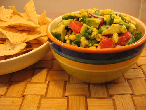 Avocado and Corn Salsa 012