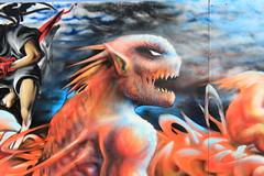 Billede 059 (Paradiso's) Tags: art wall copenhagen graffiti market kunst flea paradiso kbenhavn muur kunstwerk vlooienmarkt plads rommelmarkt valby loppemarked vg artinthemaking kunstevent toftegrds kulturhusvalby