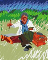 Tulipe in the Field 2011.08.19 (Julia L. Kay) Tags: sanfrancisco party portrait en woman art face field mobile female digital painting sketch san francisco artist arte julia kunst kay daily dessin peinture portraiture 365 everyday dibujo plein aire artista mda tulipe artiste knstler iart ipad portraitparty isketch mobileart idraw drawingpad juliakay jkpp julialkay juliakaysportraitparty iamda mobiledigitalart drawingpadapp drawingpadapponly jkppfeed