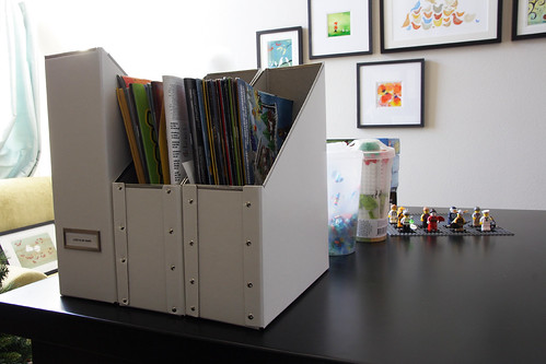 Lego Storage: Instruction Booklets