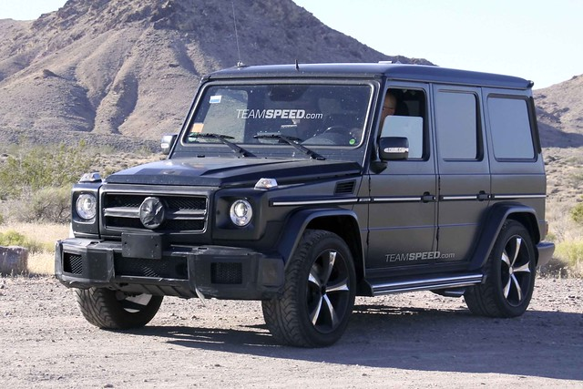 Spied: 2012 Mercedes-Benz G55 AMG - Teamspeed.com