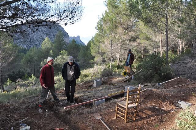 Guhyaloka land work 4