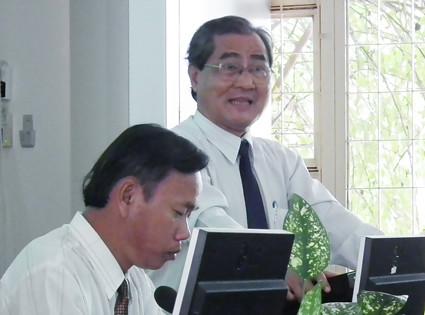 TS. Ngô Tấn Lực - Hiệu trưởng nhà trường