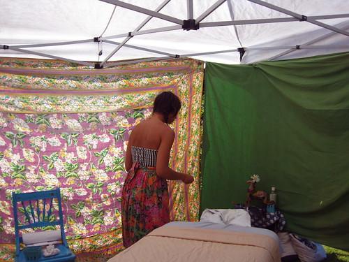 Ana's tent