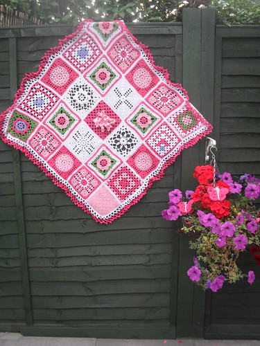 Laura (Netherlands) Your SIBOL Blanket! Thank you so much for donating these beautiful Squares!
