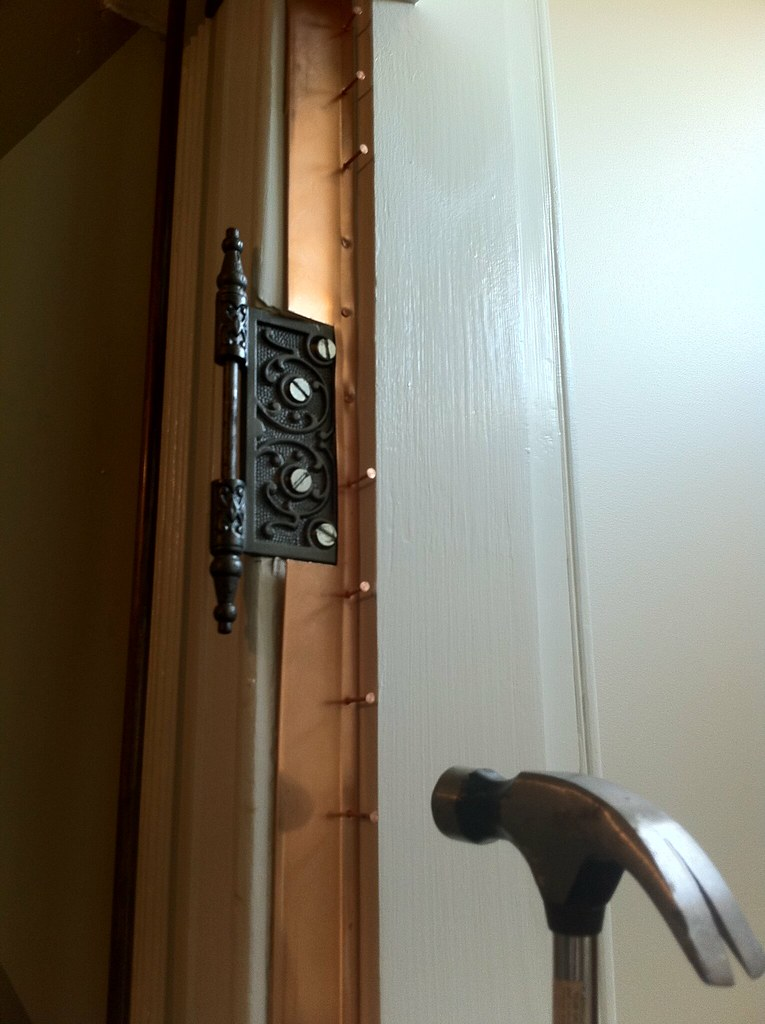 old door weatherstripping dress it up with spring bronze old town home