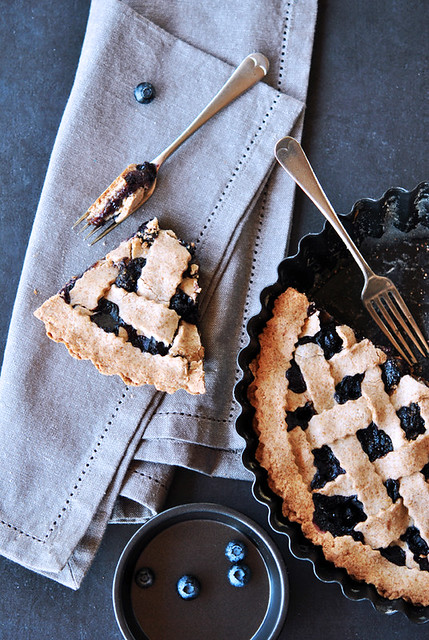3.Blueberry pie al grano saraceno