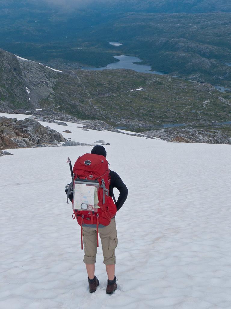 Ned Vistkjerringa, Skjørlegda og Storvatnet i bakgrunnen