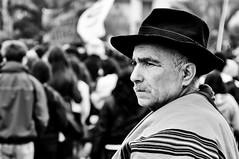 the huaso (wilfri.do) Tags: chile street portrait calle nikon retrato concepcion protesta huaso d90