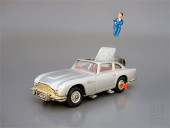 James Bond Eject Seat Toy Car